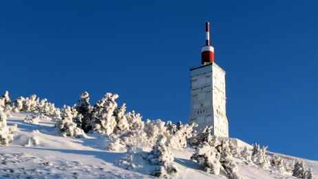 Mont Ventoux vinter