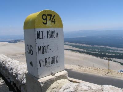 Mont Ventoux classic view